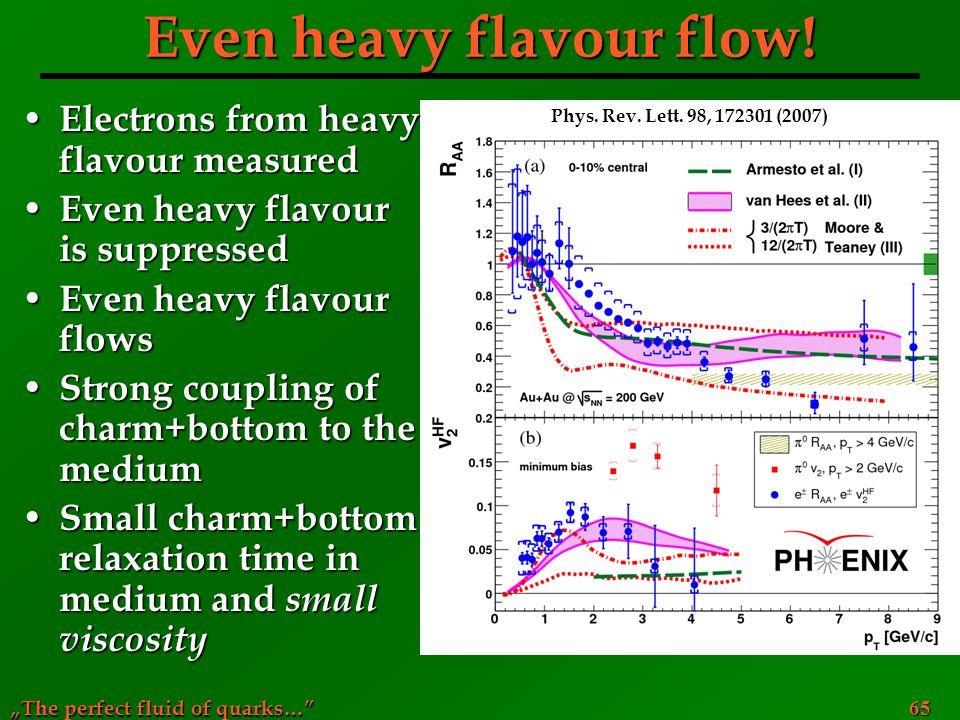 Even heavy flavour flow!