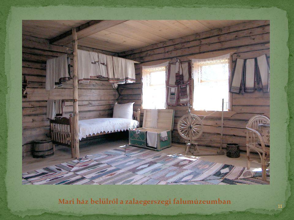 Mari ház belülről a zalaegerszegi falumúzeumban