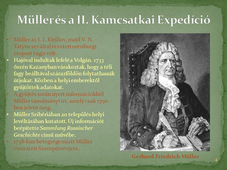 Müller és a II. Kamcsatkai Expedíció