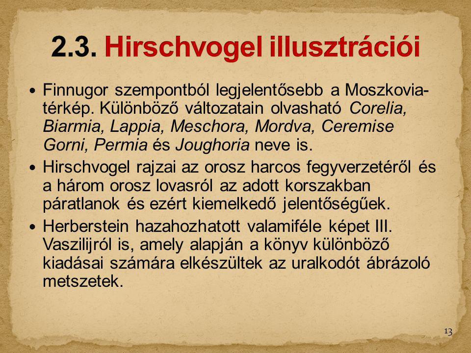 2.3. Hirschvogel illusztrációi