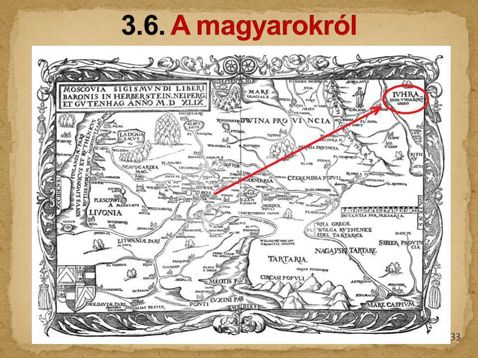 3.6. A magyarokról
