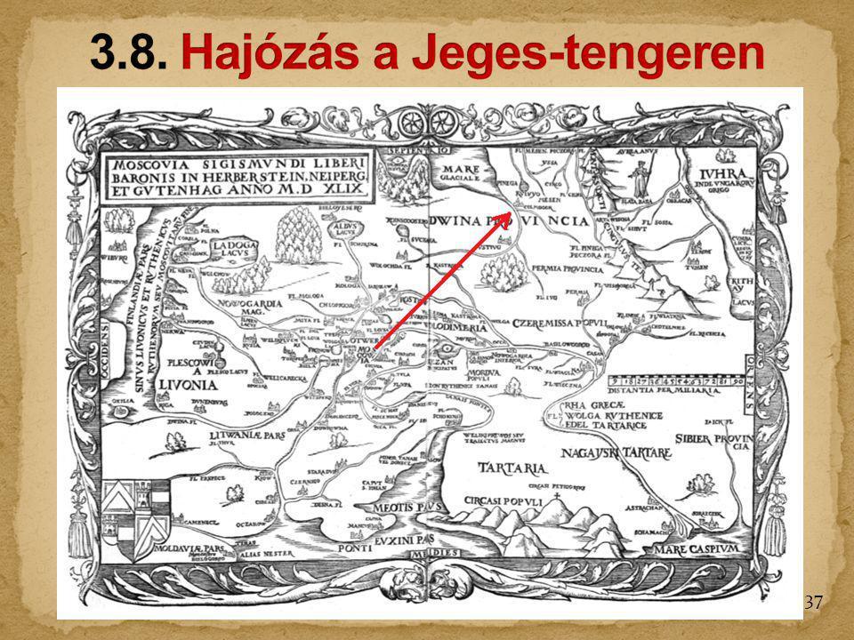 3.8. Hajózás a Jeges-tengeren