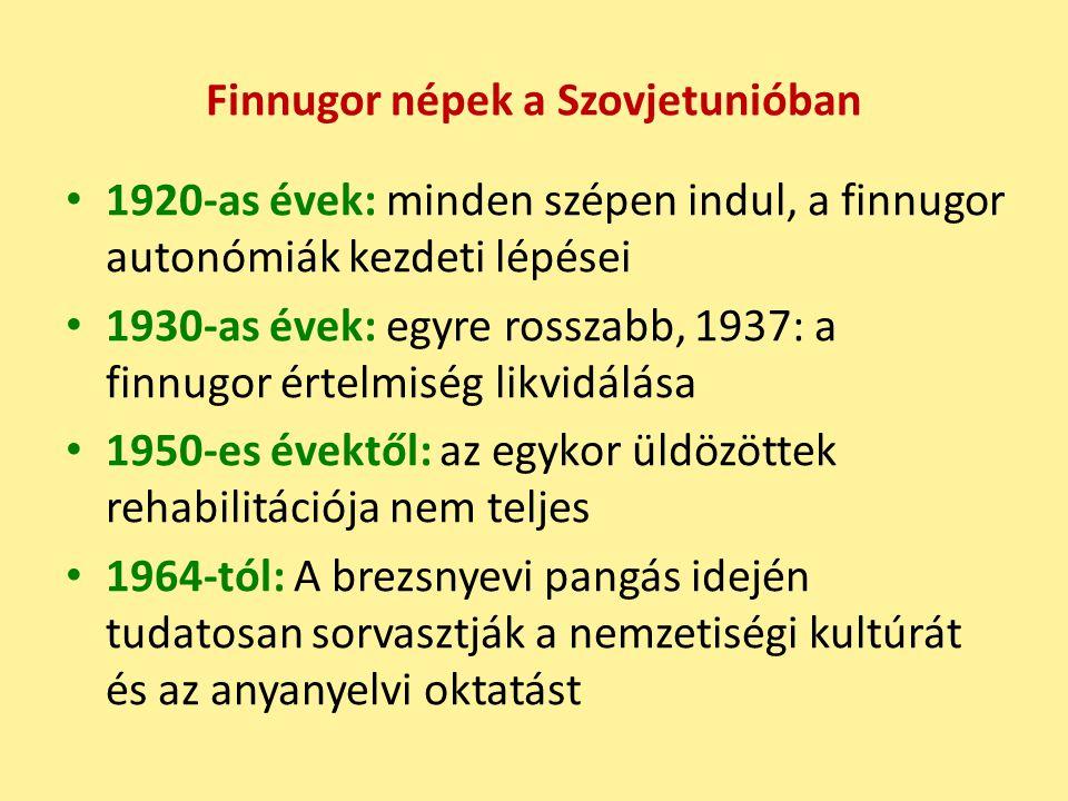 Finnugor népek a Szovjetunióban