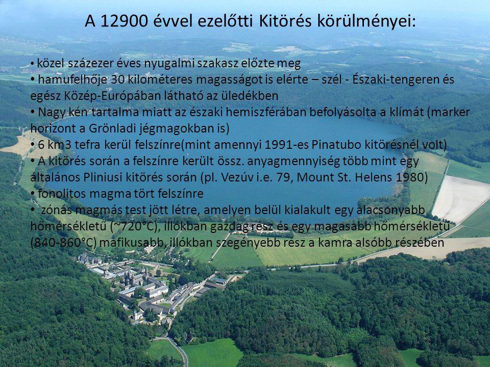 A 12900 évvel ezelőtti Kitörés körülményei: