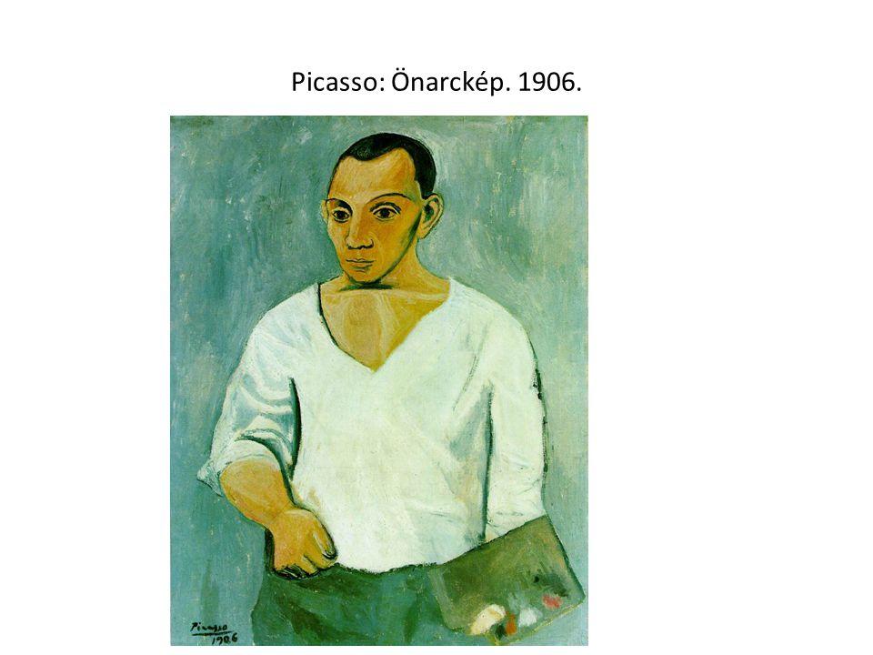 Picasso: Önarckép. 1906.