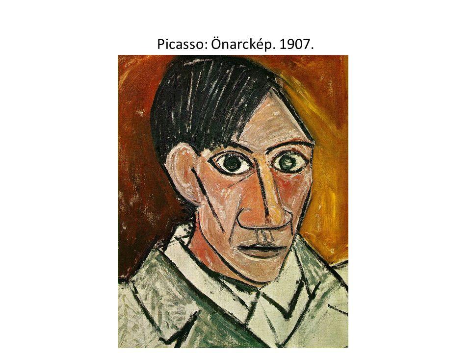 Picasso: Önarckép. 1907.