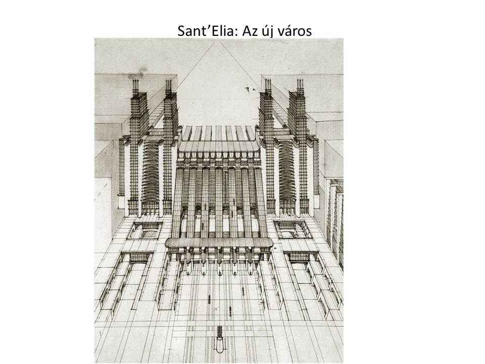 Sant'Elia: Az új város