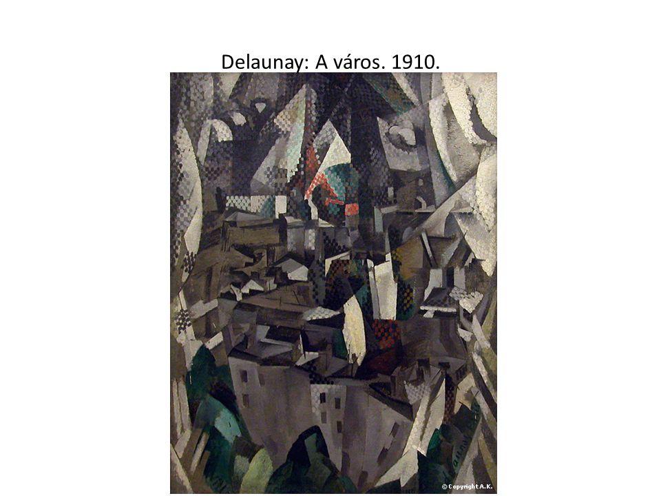 Delaunay: A város. 1910.