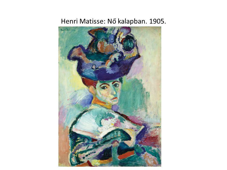 Henri Matisse: Nő kalapban. 1905.