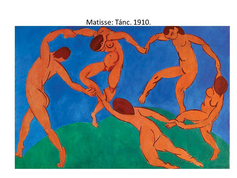 Matisse: Tánc. 1910.