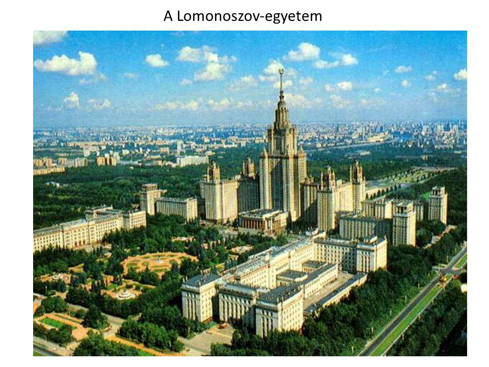 A Lomonoszov-egyetem