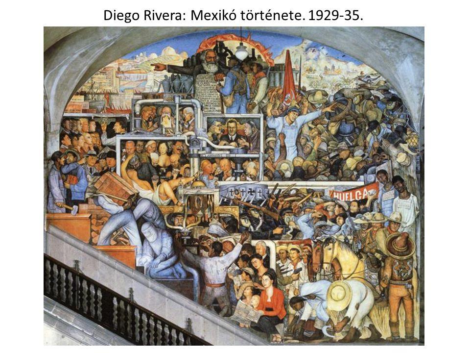 Diego Rivera: Mexikó története. 1929-35.