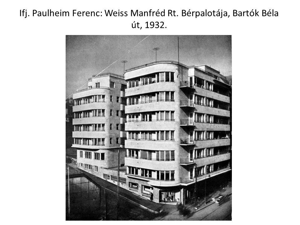 Ifj. Paulheim Ferenc: Weiss Manfréd Rt