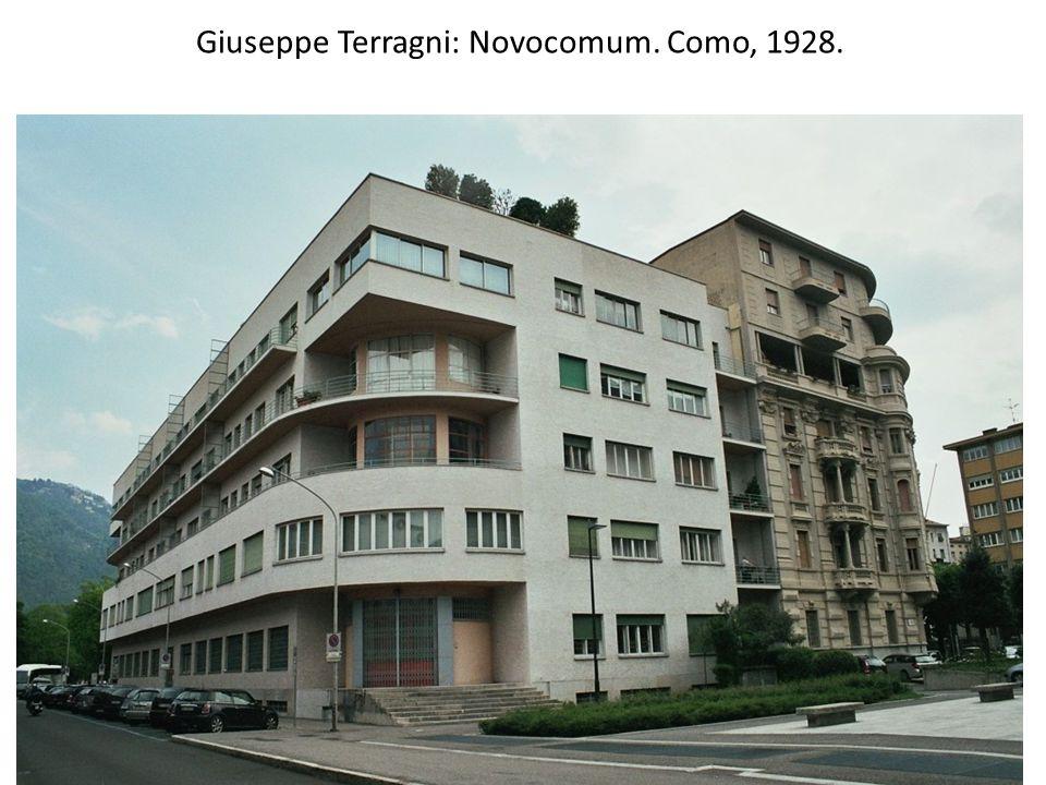 Giuseppe Terragni: Novocomum. Como, 1928.
