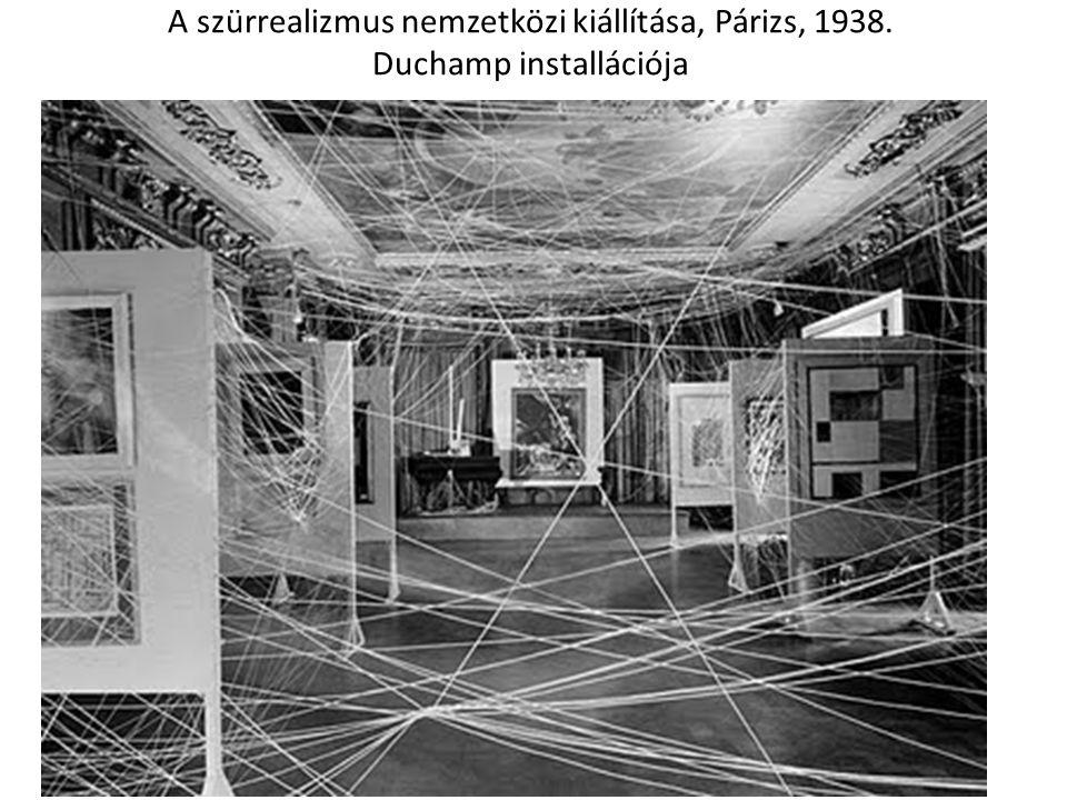 A szürrealizmus nemzetközi kiállítása, Párizs, 1938