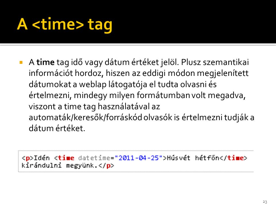 A <time> tag