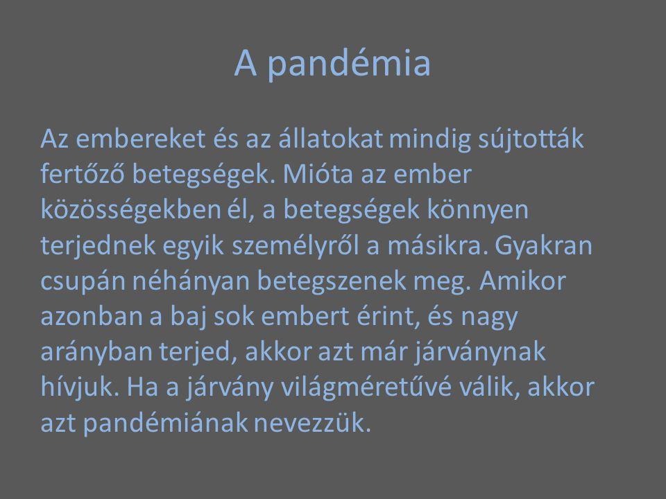 A pandémia