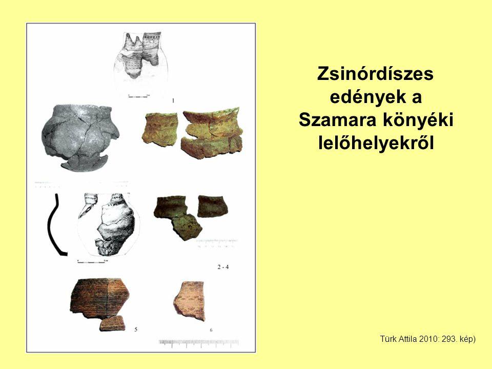 Zsinórdíszes edények a Szamara könyéki lelőhelyekről