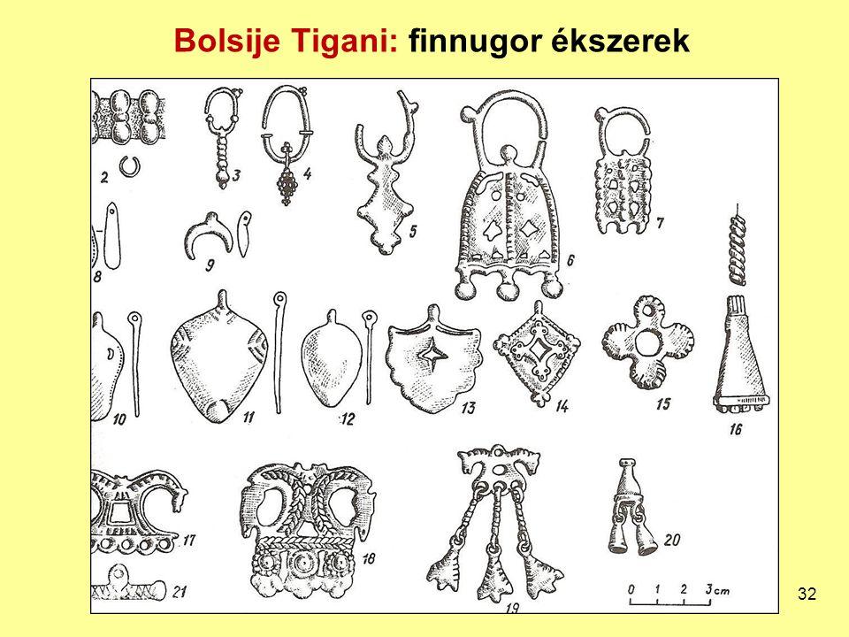 Bolsije Tigani: finnugor ékszerek