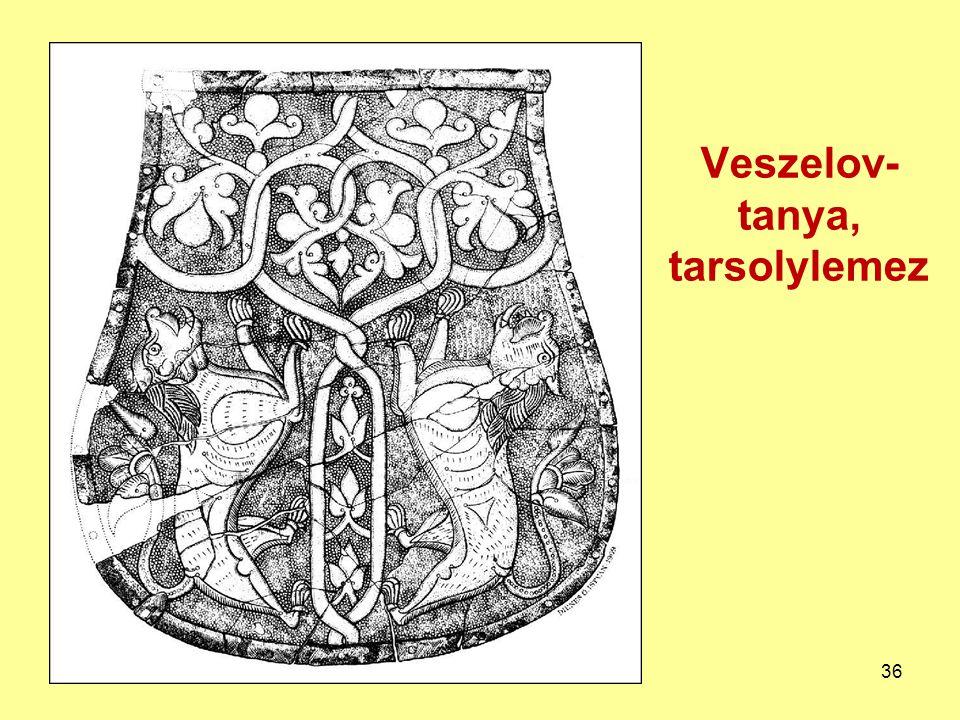Veszelov-tanya, tarsolylemez