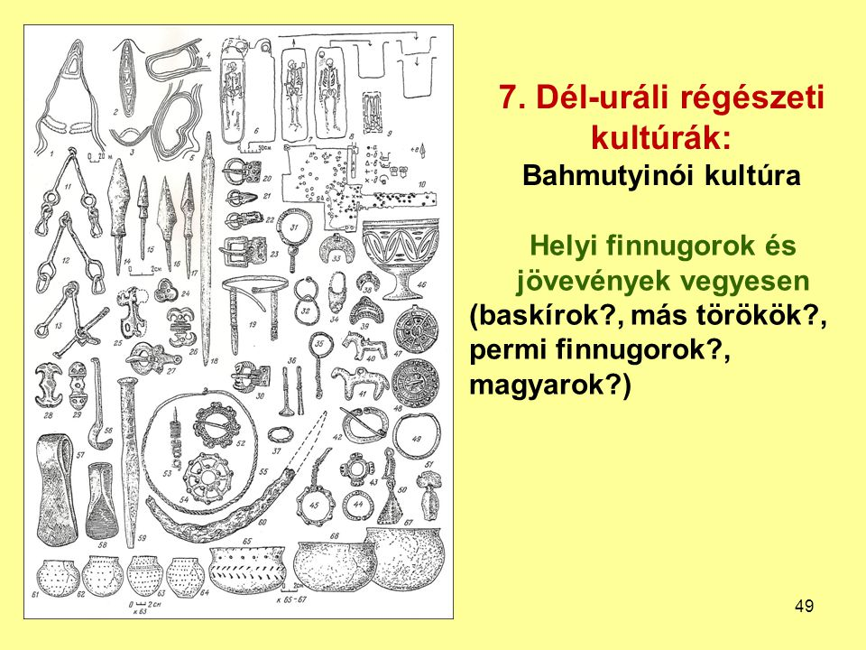 7. Dél-uráli régészeti kultúrák: Bahmutyinói kultúra