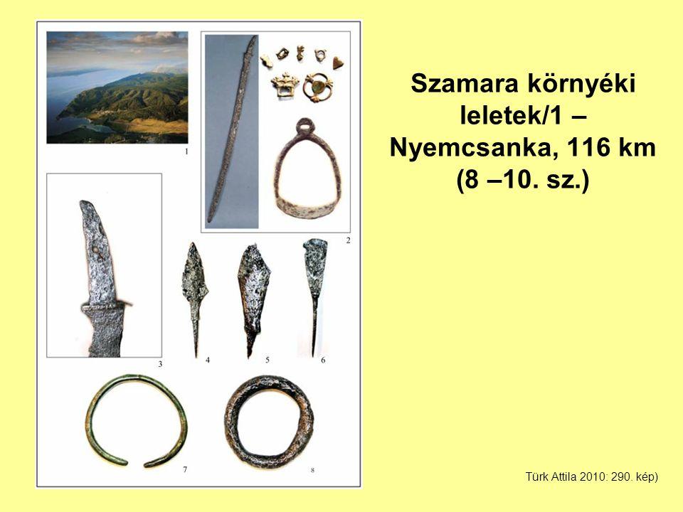 Szamara környéki leletek/1 – Nyemcsanka, 116 km (8 –10. sz.)