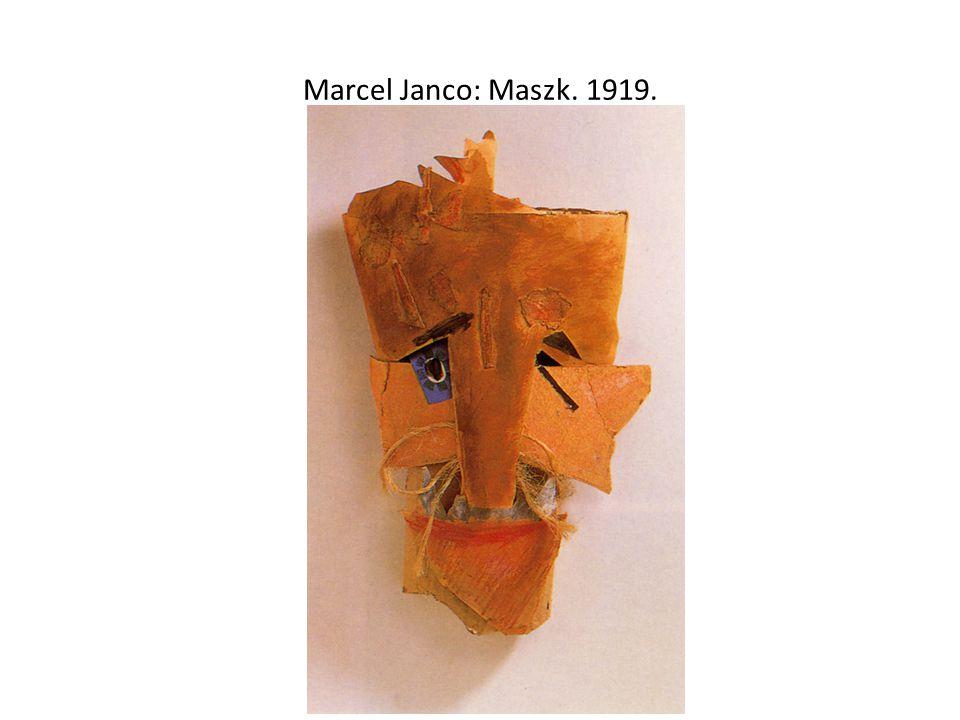 Marcel Janco: Maszk. 1919.