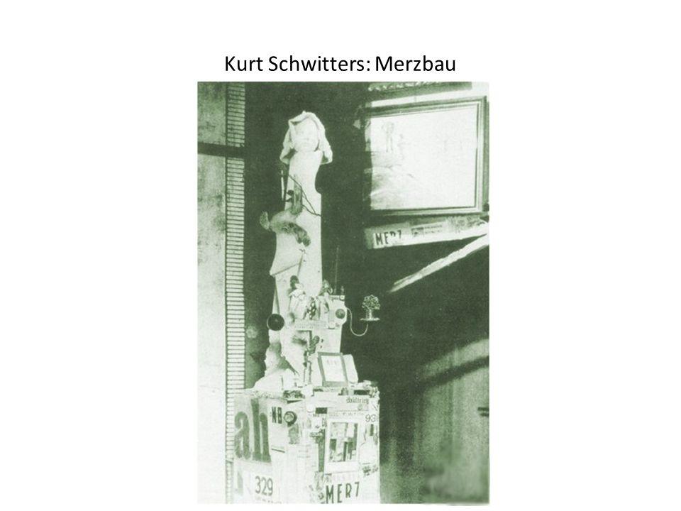 Kurt Schwitters: Merzbau