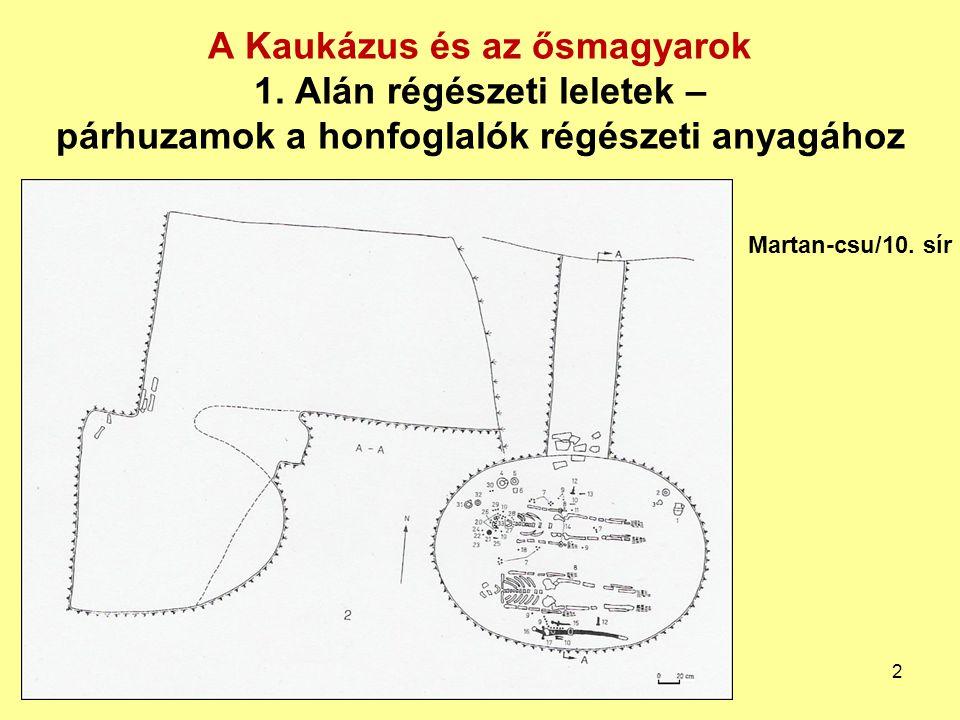 A Kaukázus és az ősmagyarok 1