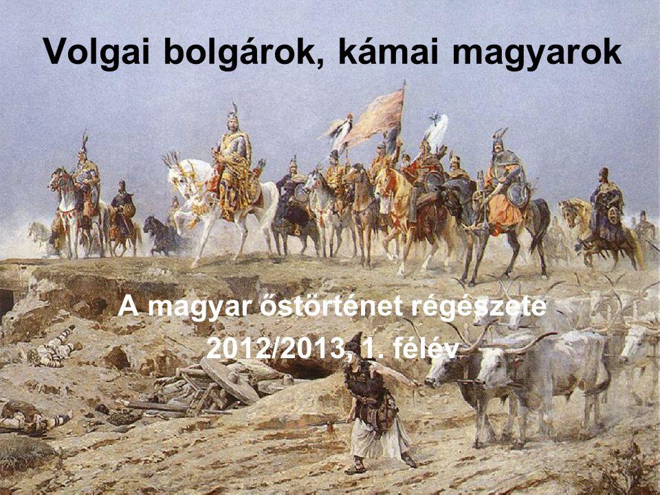 Volgai bolgárok, kámai magyarok