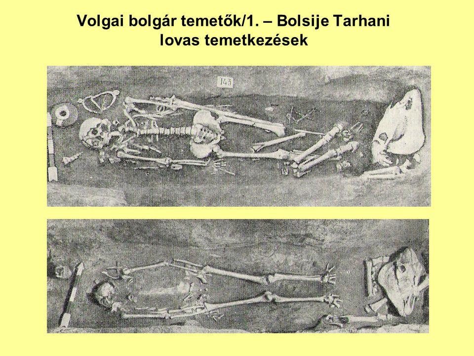Volgai bolgár temetők/1. – Bolsije Tarhani lovas temetkezések