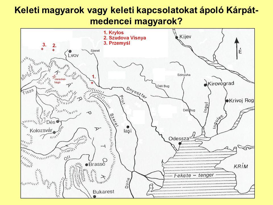 Keleti magyarok vagy keleti kapcsolatokat ápoló Kárpát-medencei magyarok