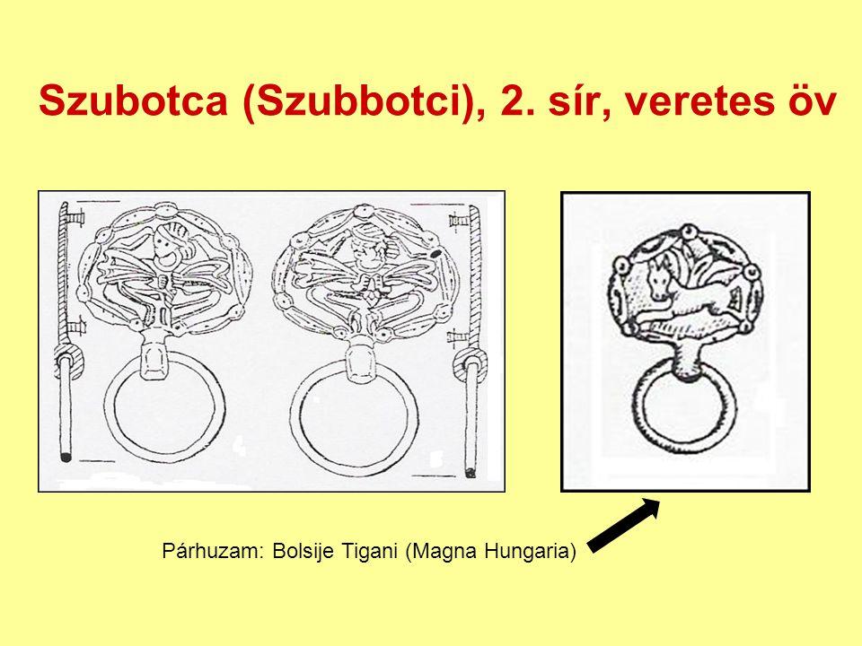 Szubotca (Szubbotci), 2. sír, veretes öv
