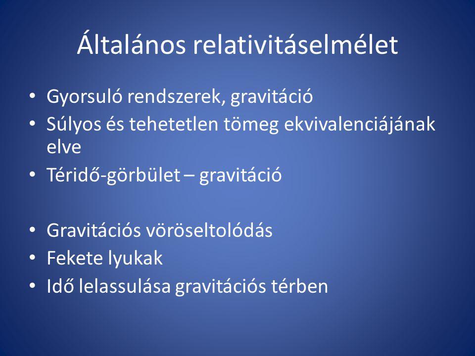 Általános relativitáselmélet