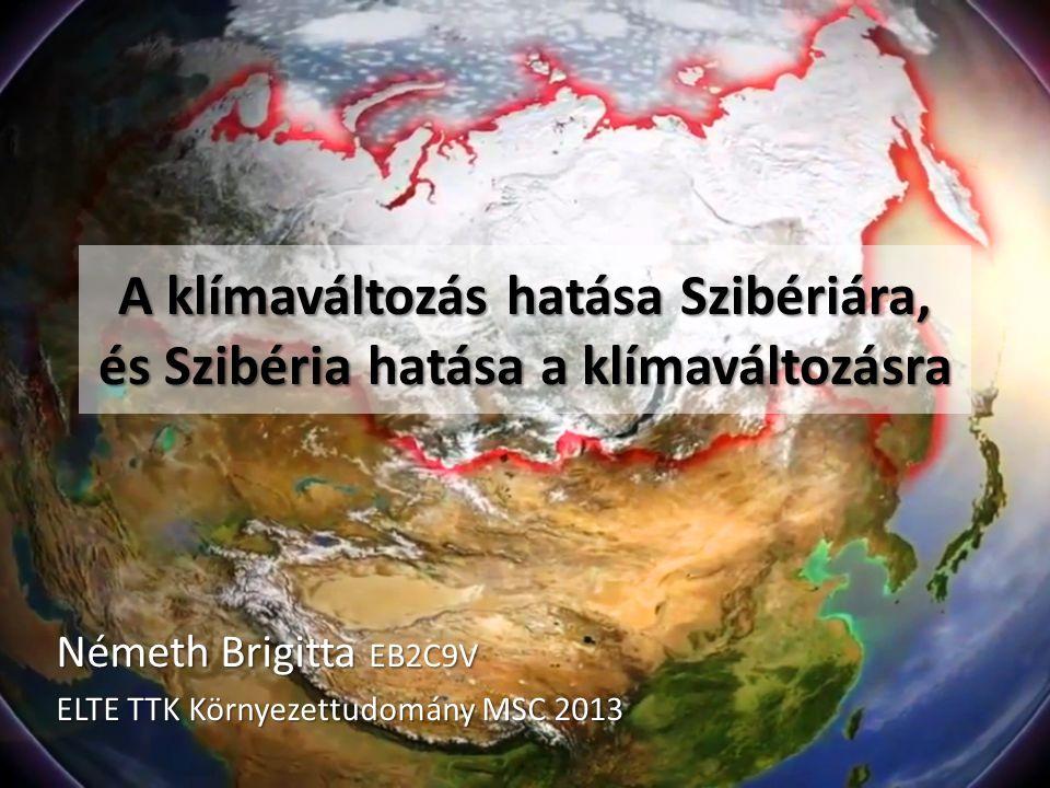 Németh Brigitta EB2C9V ELTE TTK Környezettudomány MSC 2013