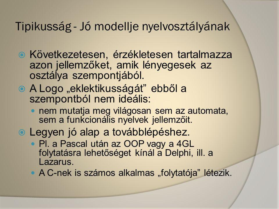 Tipikusság - Jó modellje nyelvosztályának