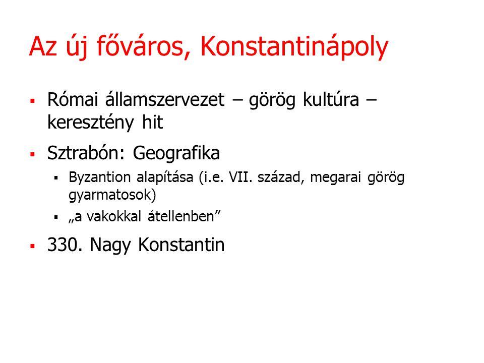 Az új főváros, Konstantinápoly