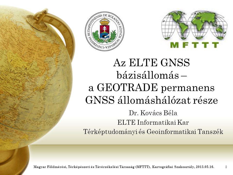 Térképtudományi és Geoinformatikai Tanszék