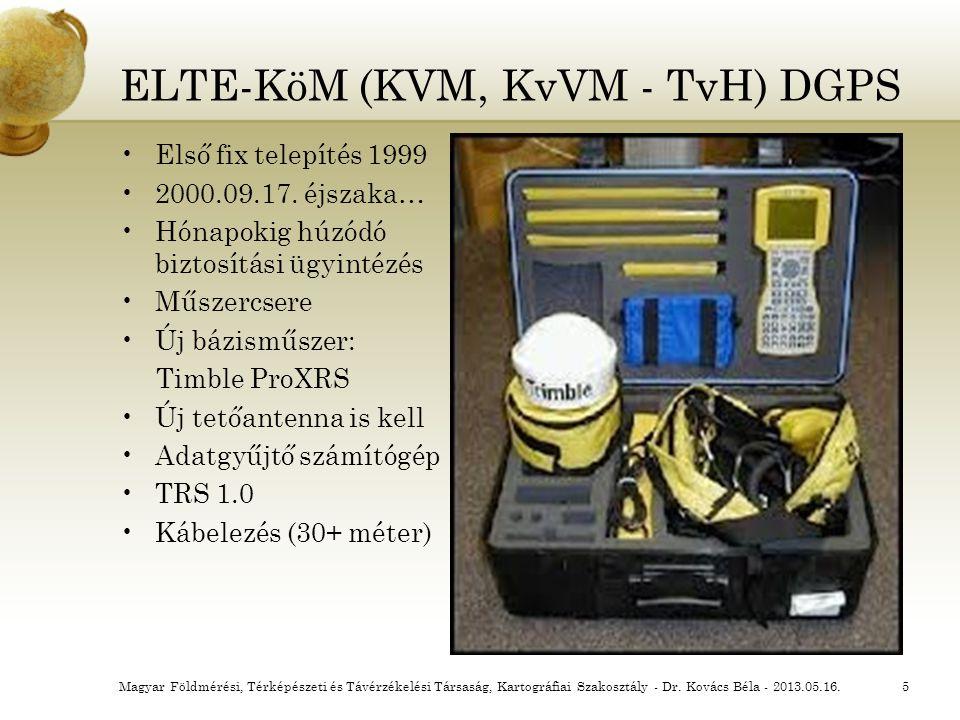 ELTE-KöM (KVM, KvVM - TvH) DGPS