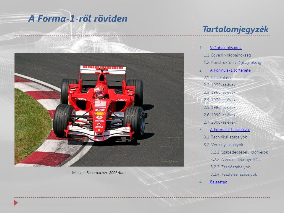 Michael Schumacher 2006-ban