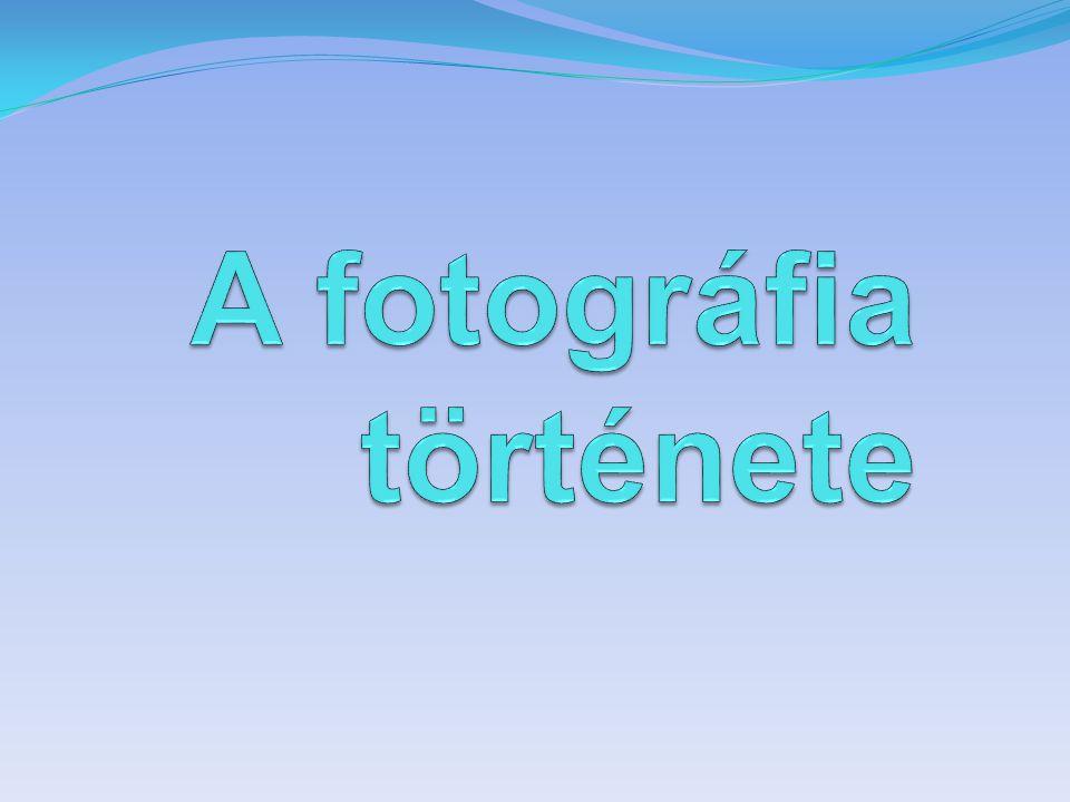 A fotográfia története