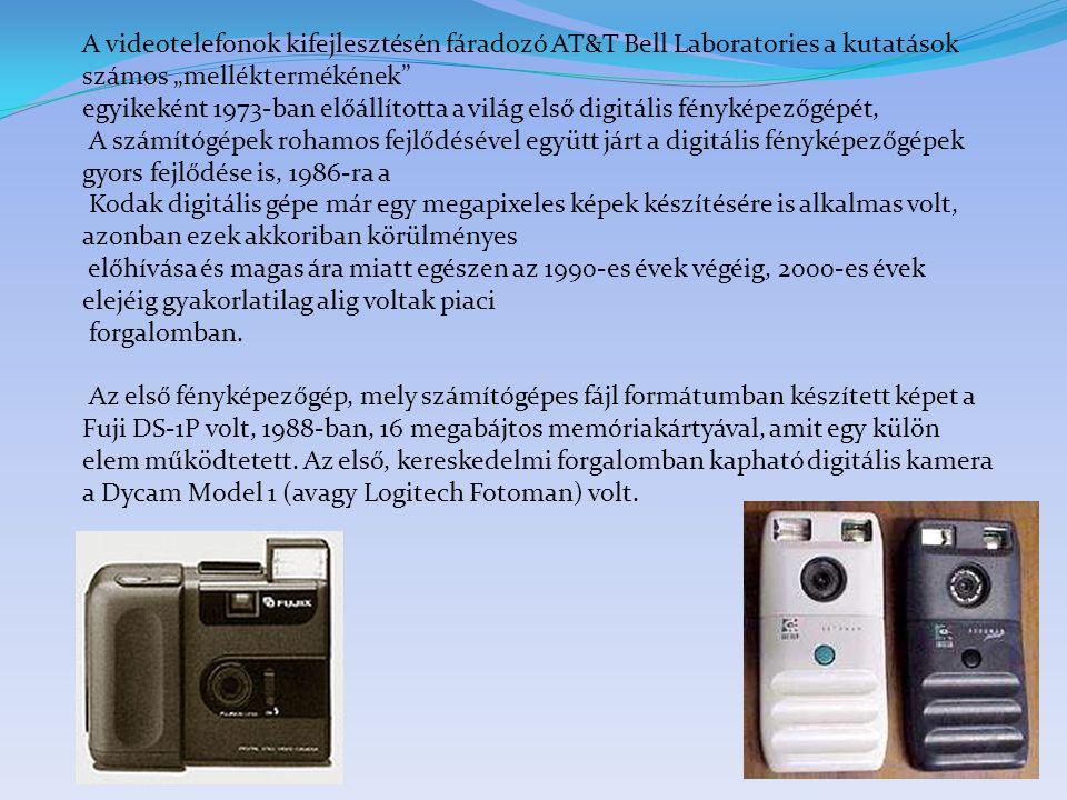 """A videotelefonok kifejlesztésén fáradozó AT&T Bell Laboratories a kutatások számos """"melléktermékének"""