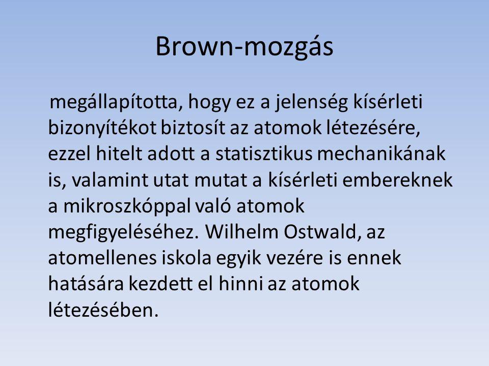 Brown-mozgás