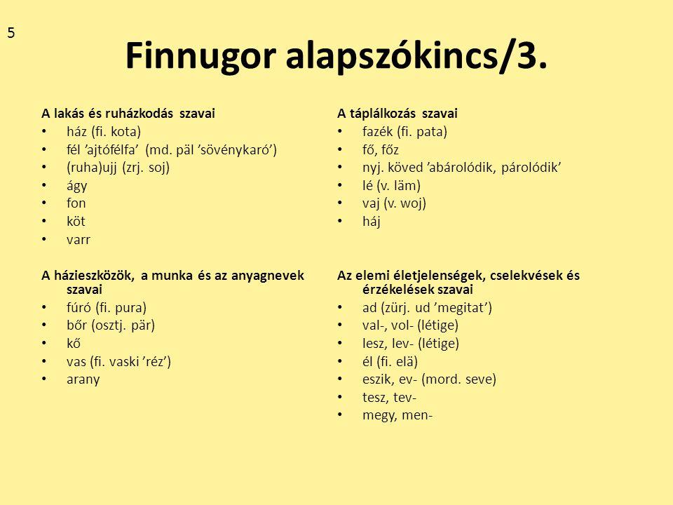 Finnugor alapszókincs/3.