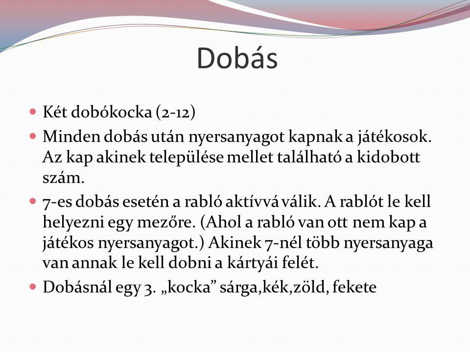 Dobás Két dobókocka (2-12)