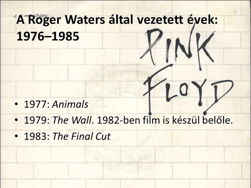 A Roger Waters által vezetett évek: 1976–1985
