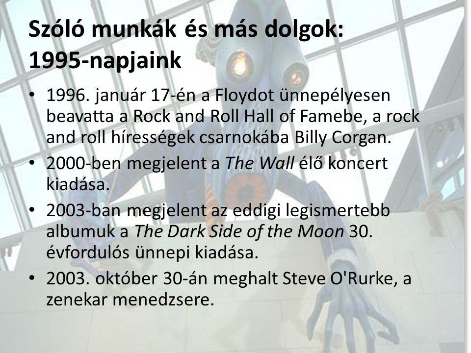 Szóló munkák és más dolgok: 1995-napjaink
