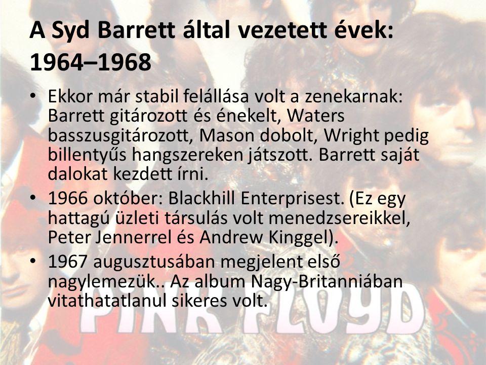 A Syd Barrett által vezetett évek: 1964–1968