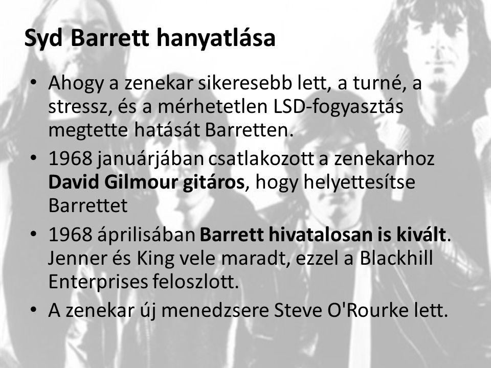 Syd Barrett hanyatlása