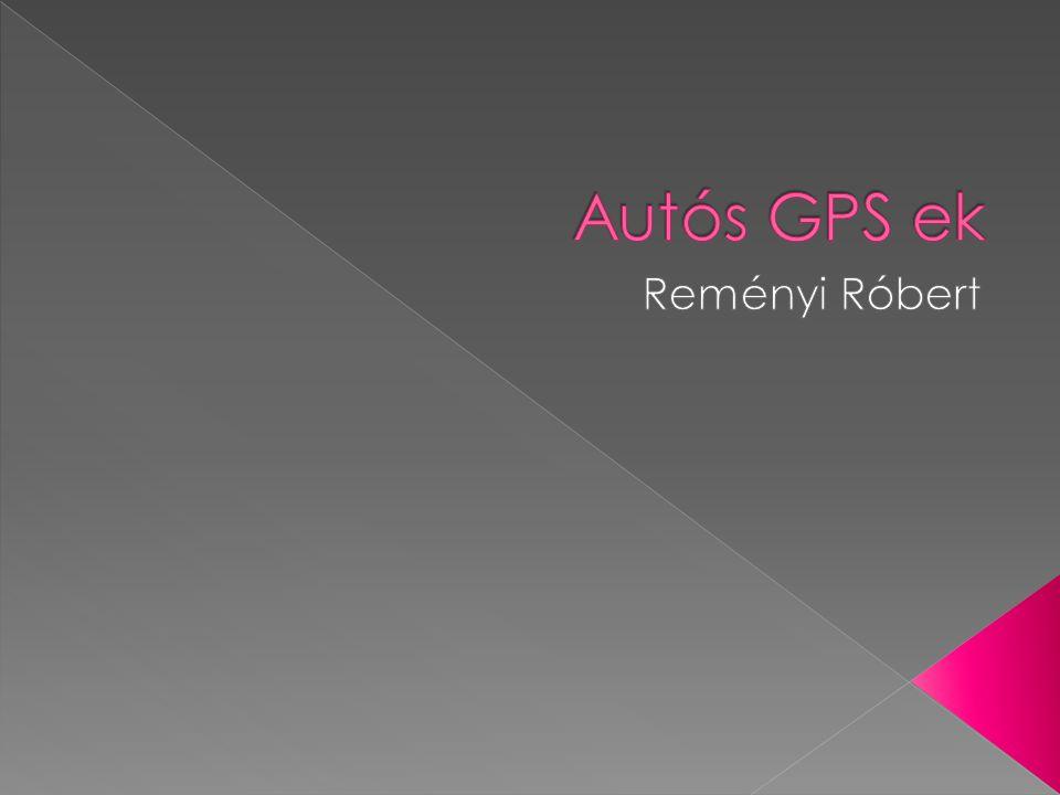 Autós GPS ek Reményi Róbert